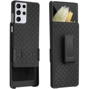 Base Holster Shell Combo  for Samsung Galaxy S21 ULTRA (6.8)