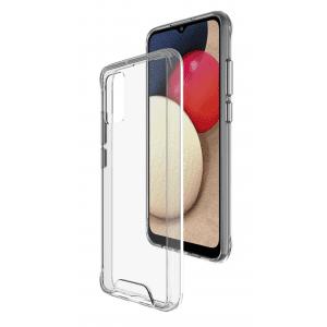 Base B-Air - Samsung  Galaxy A12 - Crystal Clear Slim Protective Case