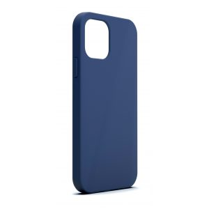 Base MagSafe Compatible Liquid Silicone Gel/Rubber Case iPhone 2021 (5.4) - Blue