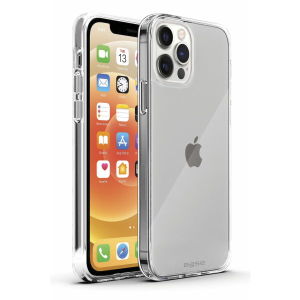 Base Crystalline For iPhone 13 Pro Max (6.7) - High Quality Clear Case