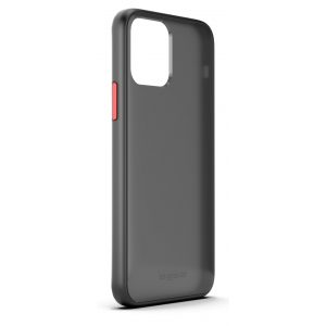 Base iPhone 2021 PRO (6.1) - DuoHybrid Reinforced Protective Case  - Clear/Black