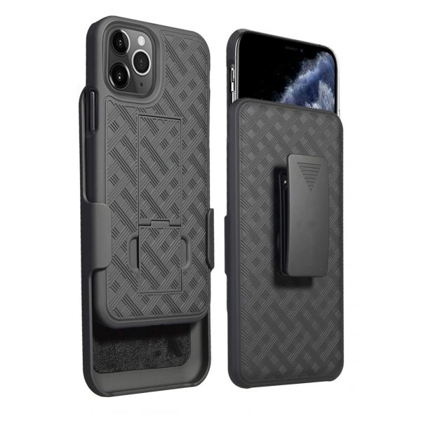 Base Duraclip Series Combo Case with Belt Clip Holster for iPhone 2021 Pro Max (6.7)