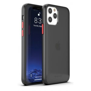iPhone 13 Pro Max (6.7) - DuoHybrid Reinforced  Protective Case  - Clear/Black