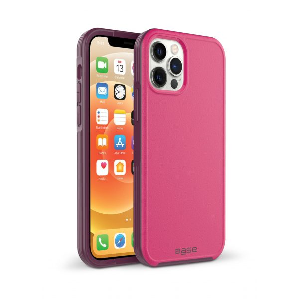 iPhone 13 PRO (6.1) - ProTech - Rugged Armor Protective Case - Pink (LIMITED EDITION)