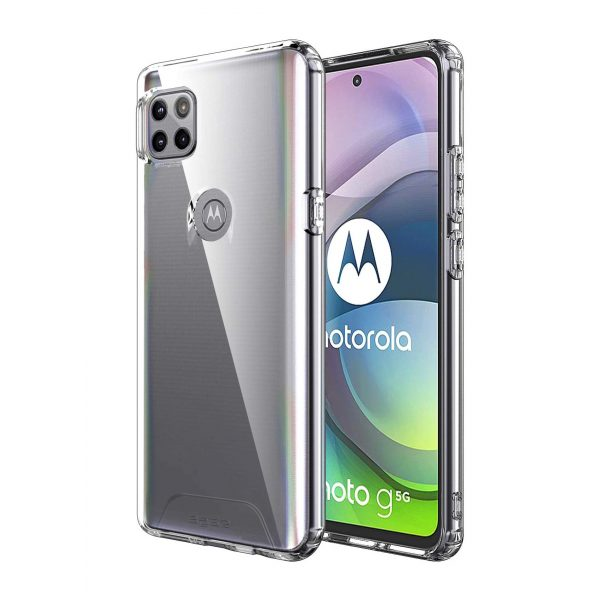 Base Moto One Ace 5G - BAir - Crystal Clear Slim Protective Case