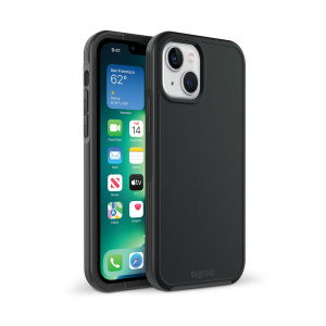 iPhone 13 (6.1) - ProTech - Rugged Armor Protective Case - Black