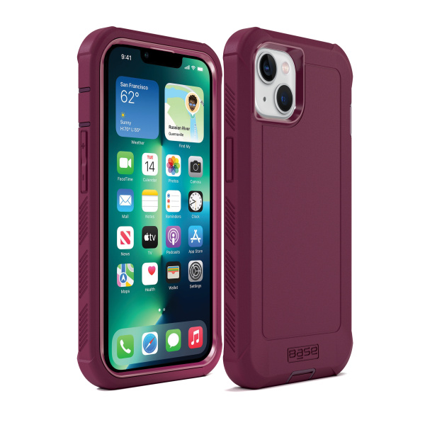 IPHONE 13 (6.1) - BOULDER -  HEAVY-DUTY CO-MOLDED RUGGED PROTECTIVE CASE - PINK (Limited Edition)