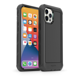 IPHONE 13 (6.1) PRO - BOULDER -  HEAVY-DUTY CO-MOLDED RUGGED PROTECTIVE CASE - BLACK