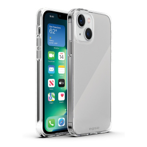 Base Crystalline For IPhone 13 (6.1) - High Quality Clear Case