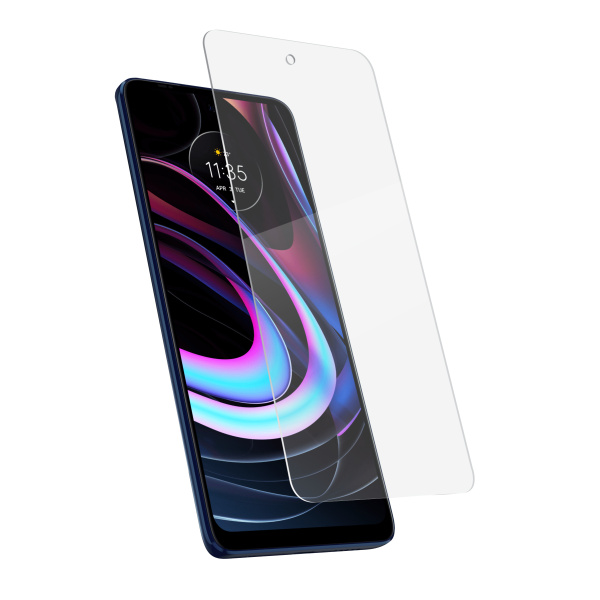 BASE PREMIUM TEMPERED GLASS SCREEN PROTECTOR FOR MOTO EDGE 2021 - RETAIL PACKAGED