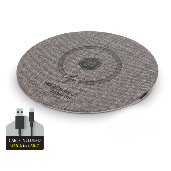 PowerPeak Aluminum 15W MagCharge wireless Fast Charging Wireless Pad