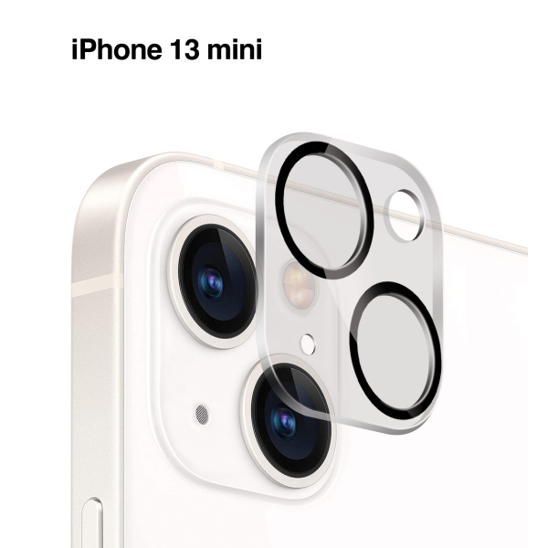 Base iPhone 13 Mini (5.4) - Camera Lens Tempered Glass Protector